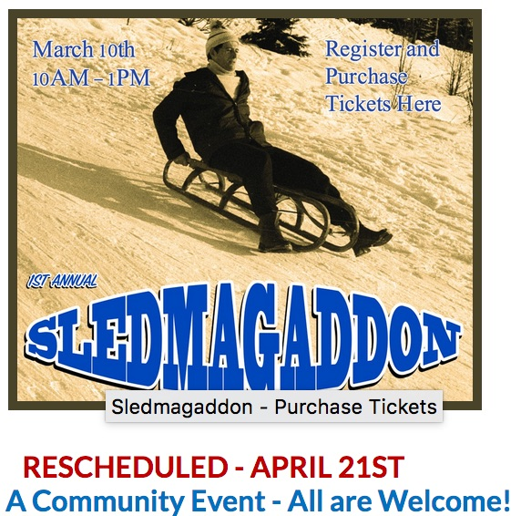 1st Annual Sledmagaddon RMAE April 21 2018