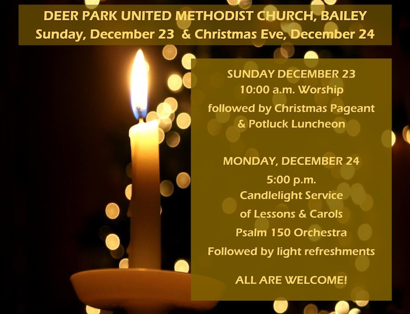 ADVENT IV AND CHRISTMAS EVE DPUMC