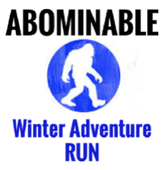 Abominable Winter Adventure Run logo