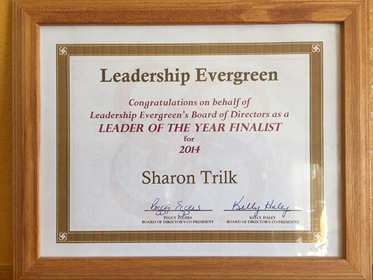 Leader of the Year Finalist