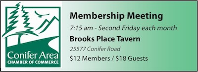 Conifer Chamber Membership Meeting Brook Place