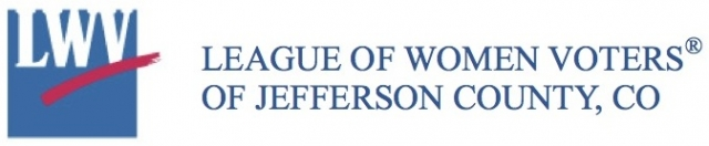 Jeffco League of Women Voters logo