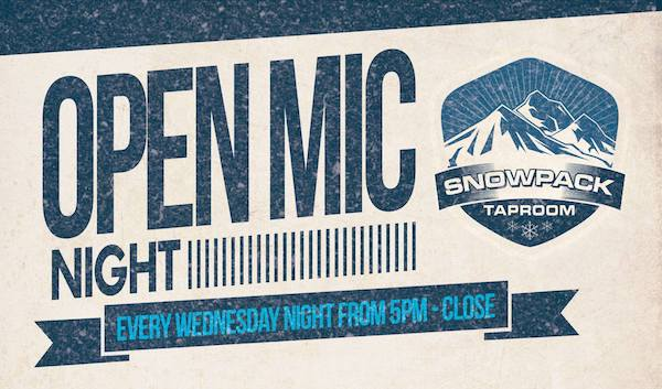 Open Mic Night Snowpack Taproom