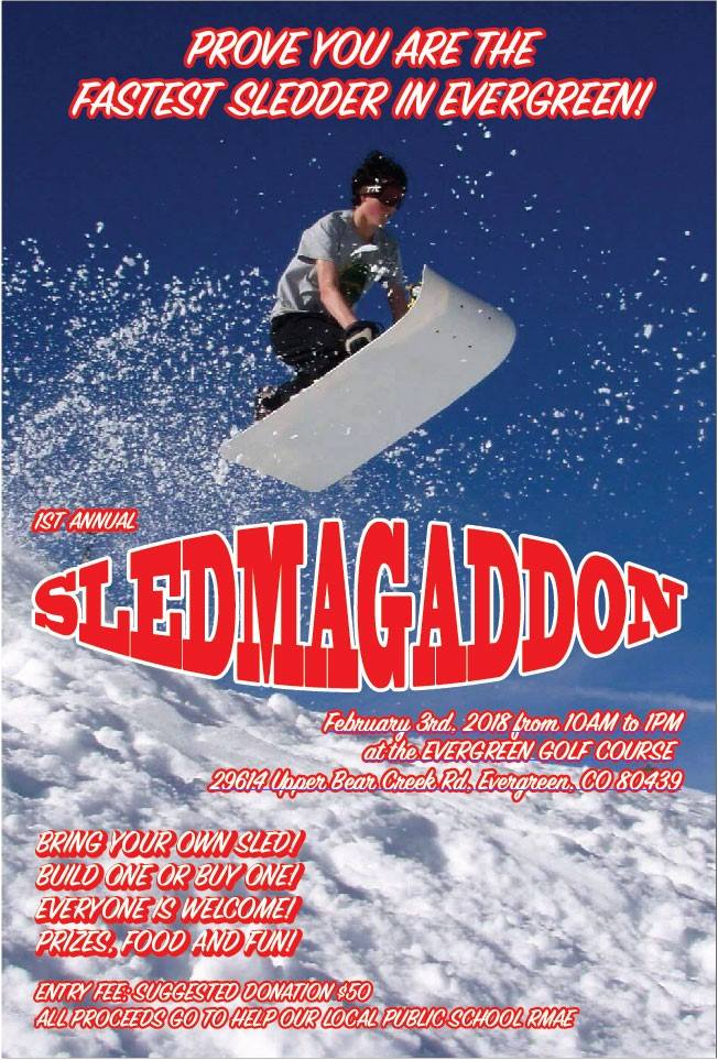 Sledmagaddon Evergreen 2018