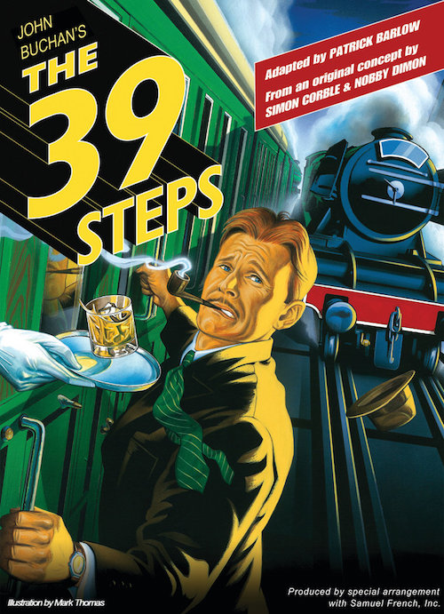 The 39 Steps StageDoor Theatre