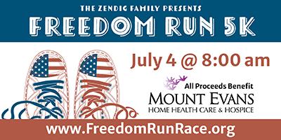 Mount Evans Home Health & Hospice Annual Freedom Run fundraiser