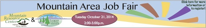 Mountain Area Fall Job Fair 2014