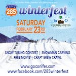 285 Winterfest in Conifer February 23rd
