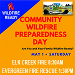 Community Wildfire Preparedness Day May 1st