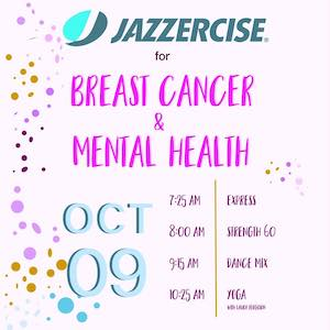 Conifer Jazzercise Annual Breast Cancer & Mental Health Fundraiser