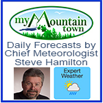 My Mountain Town Weather Ad