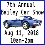 2018 Bailey Car Show