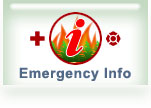 emergency and wild fire information