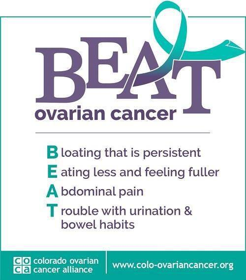 Ovarian Cancer Know The Symptoms My Mountain Town Conifer Pine Evergreen Bailey Forums