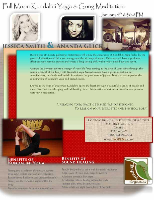 Taspens: Kundalini Yoga with Jessica Smith &