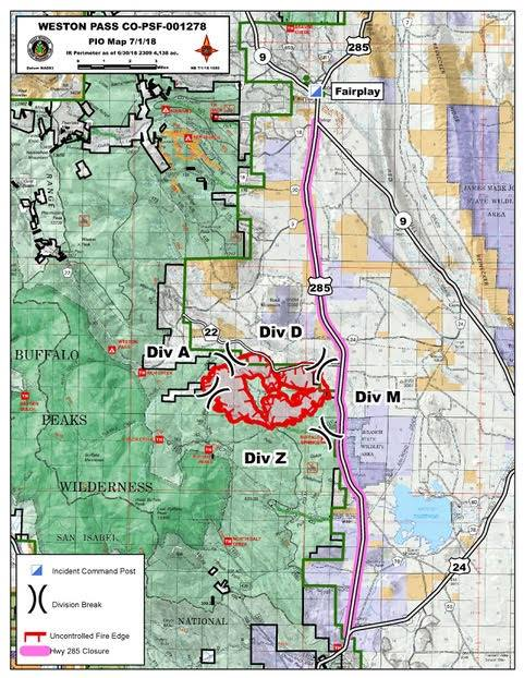 Buffalo Peaks Weston Pass Fire Page 4 My Mountain Town Conifer