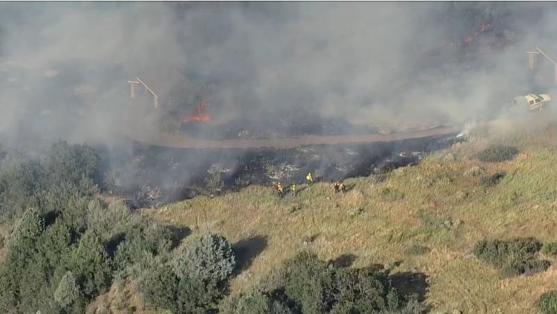 Wildland fire in Deer Creek Canyon, evacuations in progress