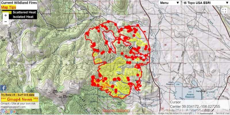 Buffalo Peaks Weston Pass Fire Page 8 My Mountain Town Conifer