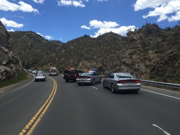 Serious motorcycle accident Hwy 6 Clear Creek Canyon - My